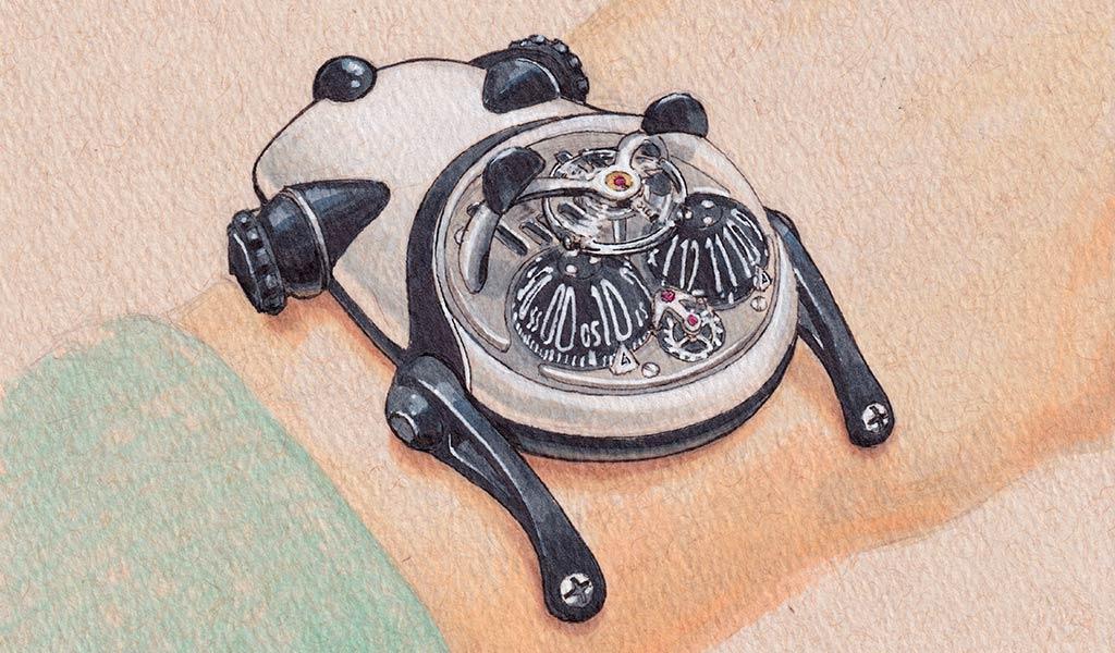 Наручные часы Панда
