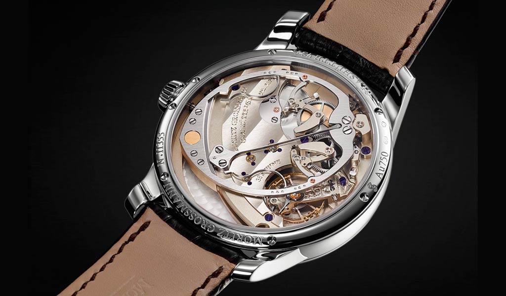 Новые механические часы Moritz Grossmann