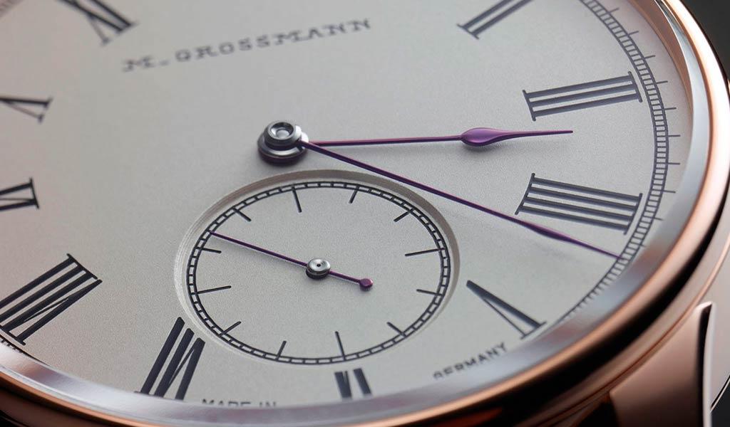 Немецкие механические часы Moritz Grossmann