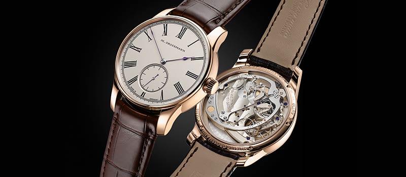 Moritz Grossmann представляет две новые версии часов Hamatic Vintage