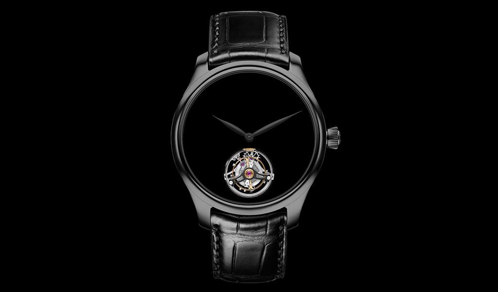Наручные часы с турбийоном H. Moser & Cie.