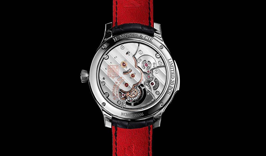 Часы с минутным репетиром H. Moser & Cie.