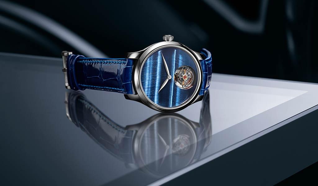Швейцарские часы Endeavour Tourbillon Concept Tiger's Eye