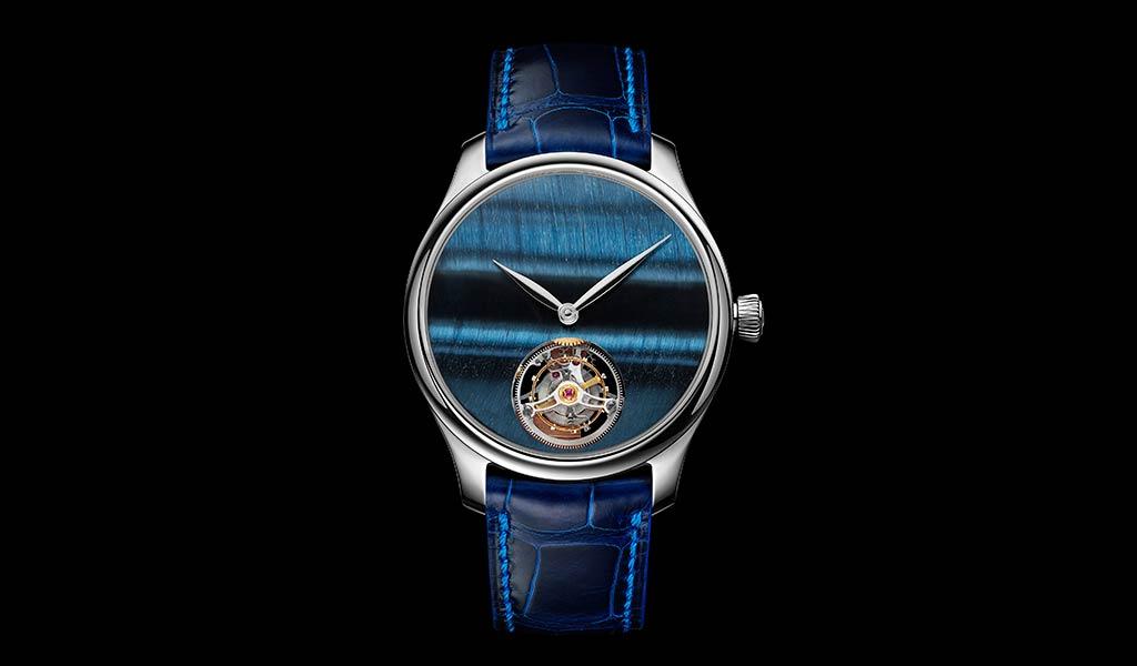 Новые швейцарские часы Endeavour Tourbillon Concept Tiger's Eye