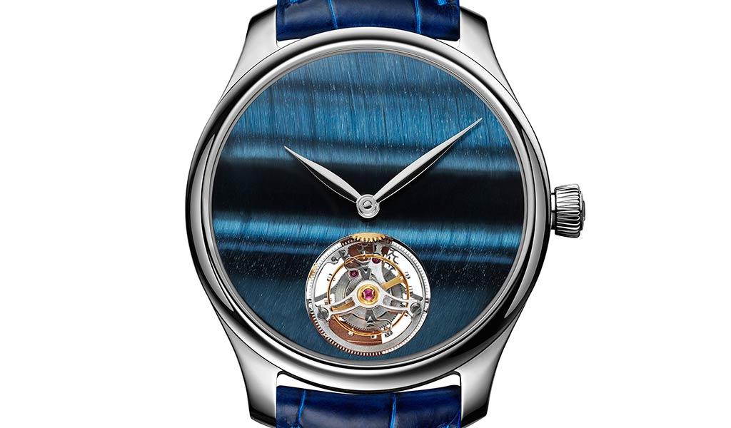 Швейцарские часы с турбийоном Endeavour Tourbillon Concept Tiger's Eye