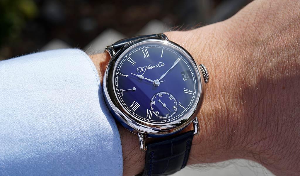Новые наручные часы H. Moser & Cie.