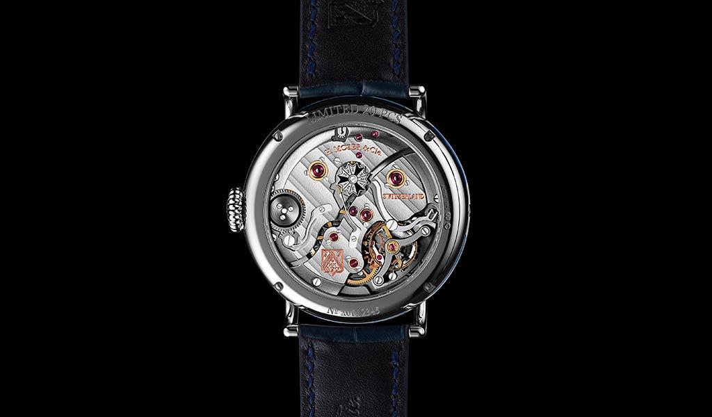 Швейцарские механические часы с вечным календарем H. Moser & Cie.