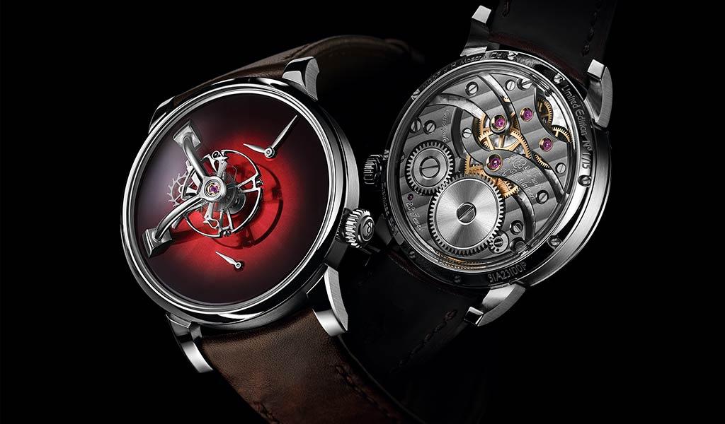 Швейцарские наручные часы LM101 MB&F X H. MOSER