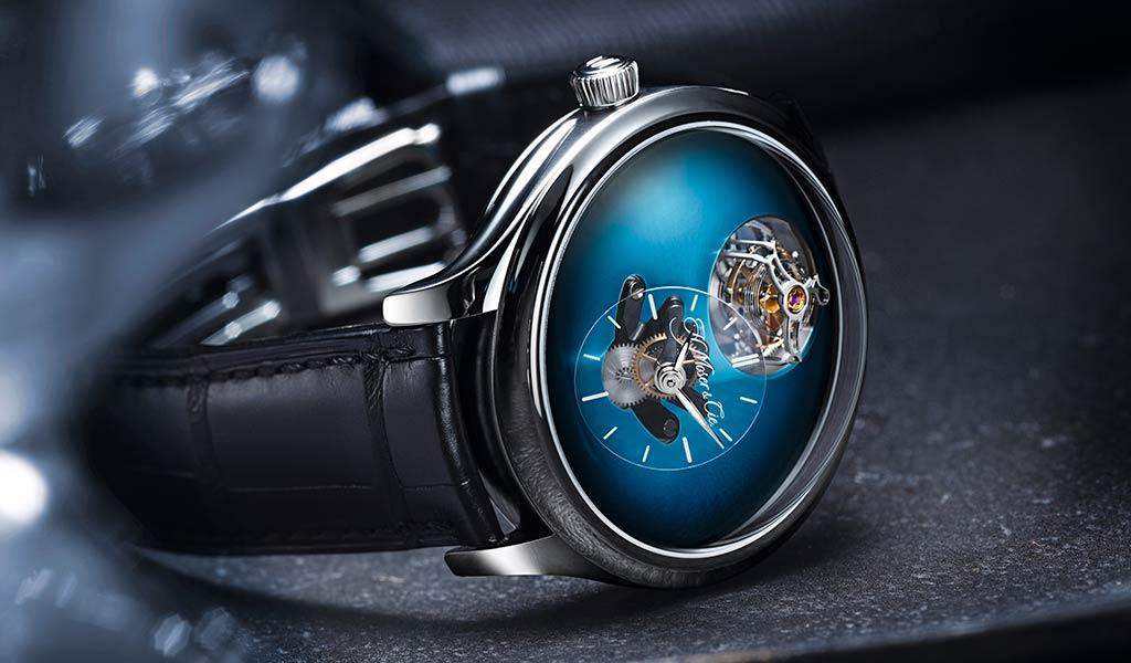 Наручные часы Endeavour Cylindrical Tourbillon H. Moser x MB&F