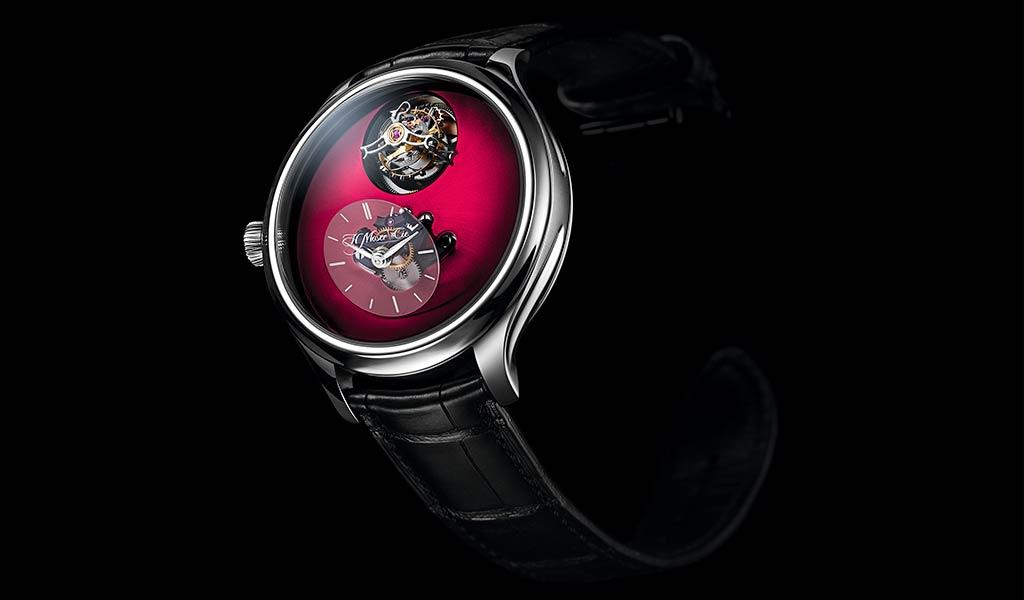Часы наручные Endeavour Cylindrical Tourbillon H. Moser x MB&F