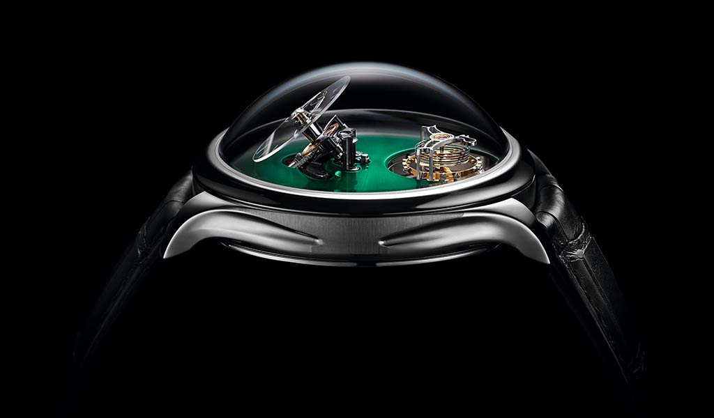 Часы Endeavour Cylindrical Tourbillon H. Moser x MB&F
