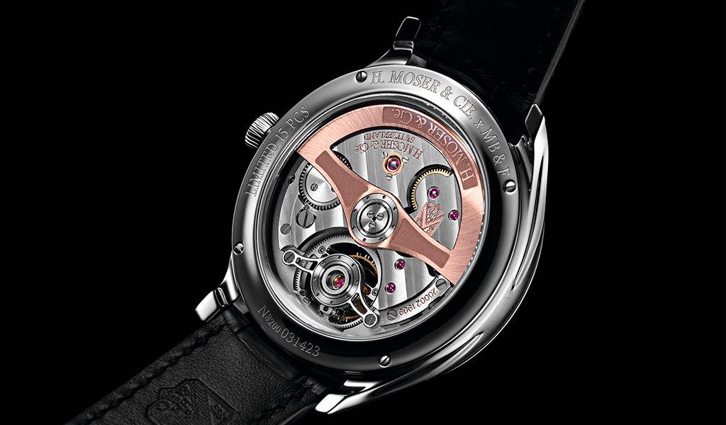 Швейцарские часы Endeavour Cylindrical Tourbillon H. Moser x MB&F