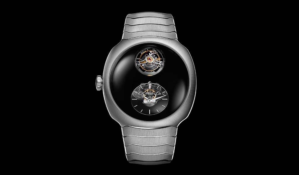 Швейцарские часы с турбийоном Moser