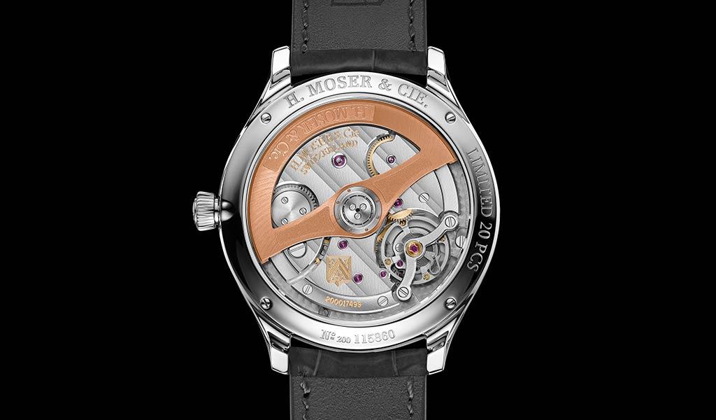Швейцарские часы Endeavour Centre Seconds Concept X seconde/seconde/