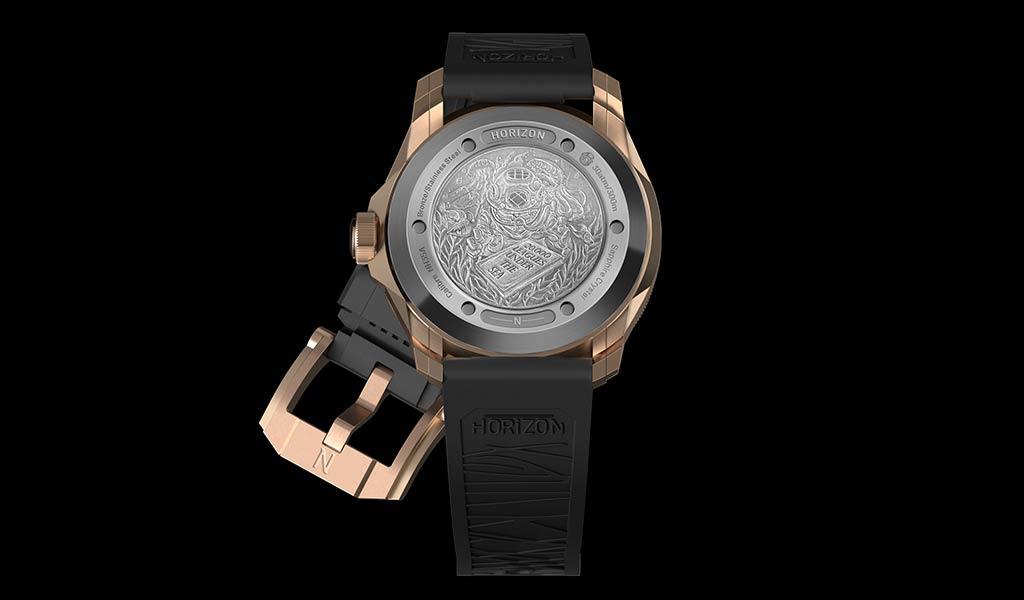 Новые механические часы для дайвинга Horizon