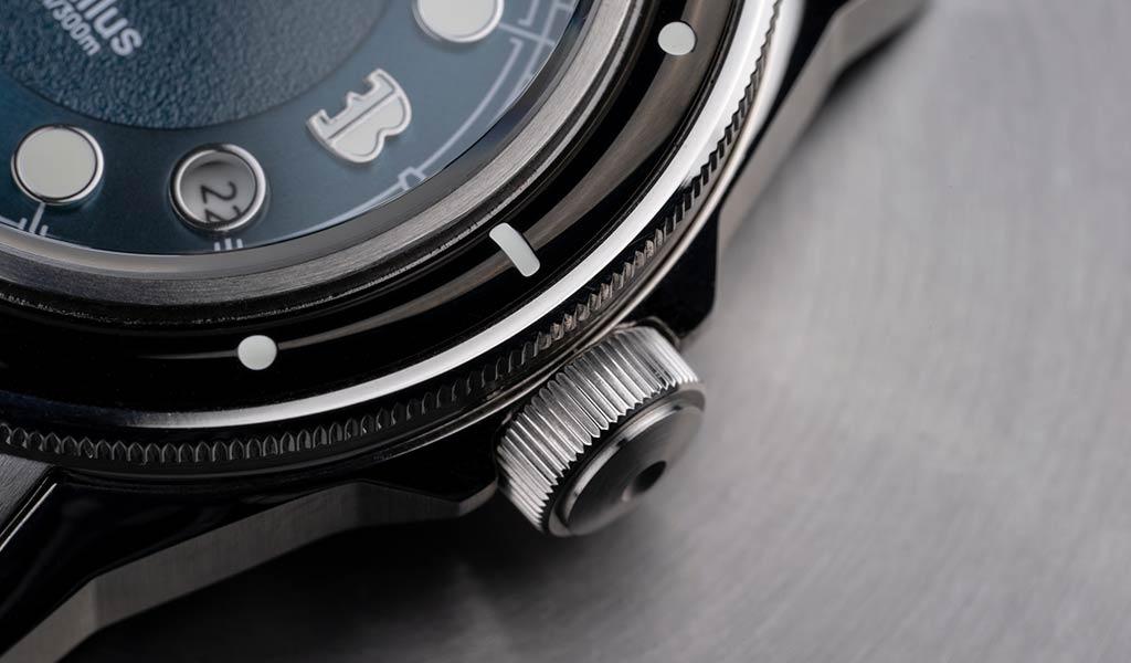 Механические дизайнерские часы Horizon Nautilus