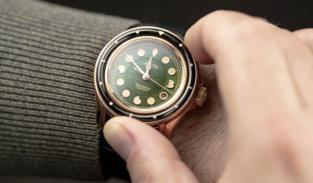 Часы для дайвинга Horizon Nautilus