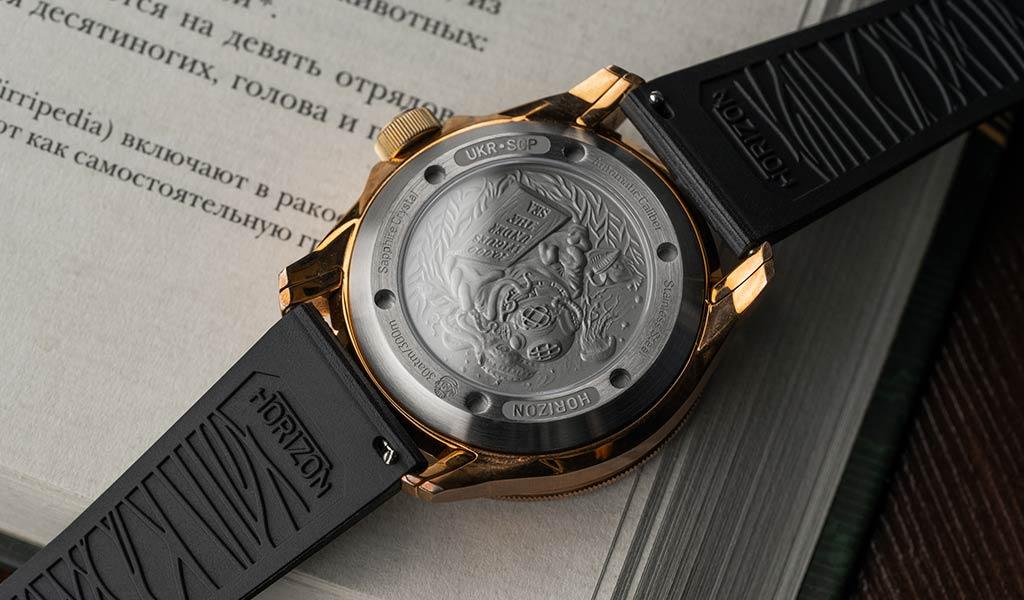 Дизайнерские механические часы Horizon Nautilus