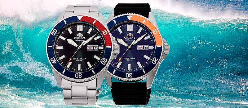 ORIENT представляют пять новых моделей часов в стиле дайвер