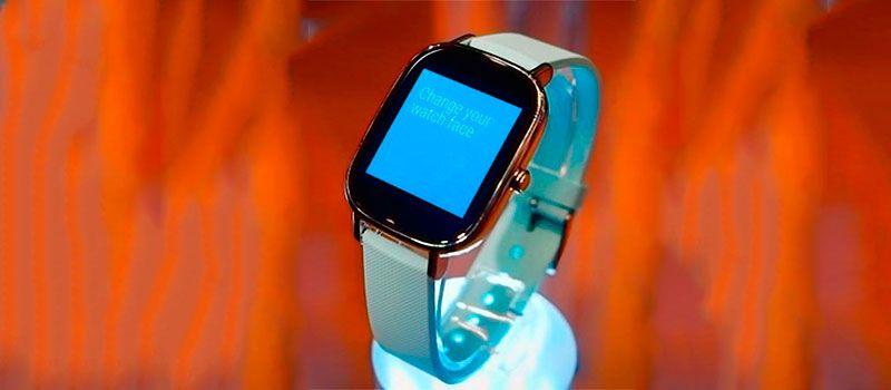 Умные часы ZenWatch 2 от компании Asus