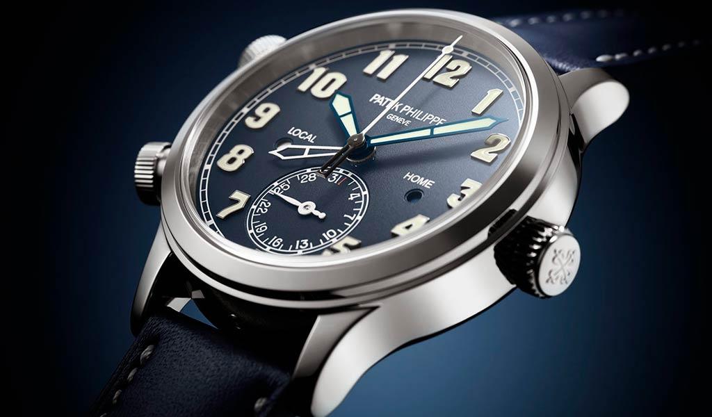 Наручные часы с часовыми поясами Patek Philippe