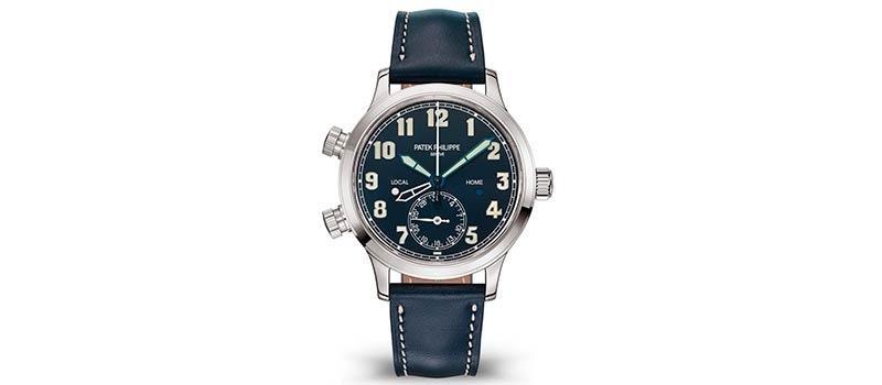 Новые наручные часы Calatrava Pilot Travel Time от Patek Philippe