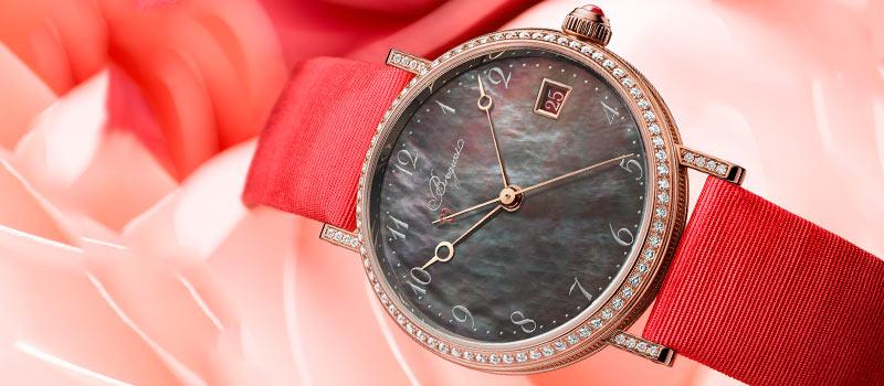 Женские часы Breguet Classique 9065 Tahitian с таитянским перламутровым циферблатом