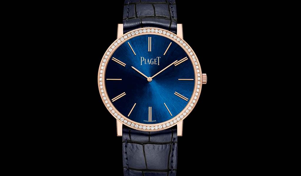 Новые наручные часы Piaget Altiplano