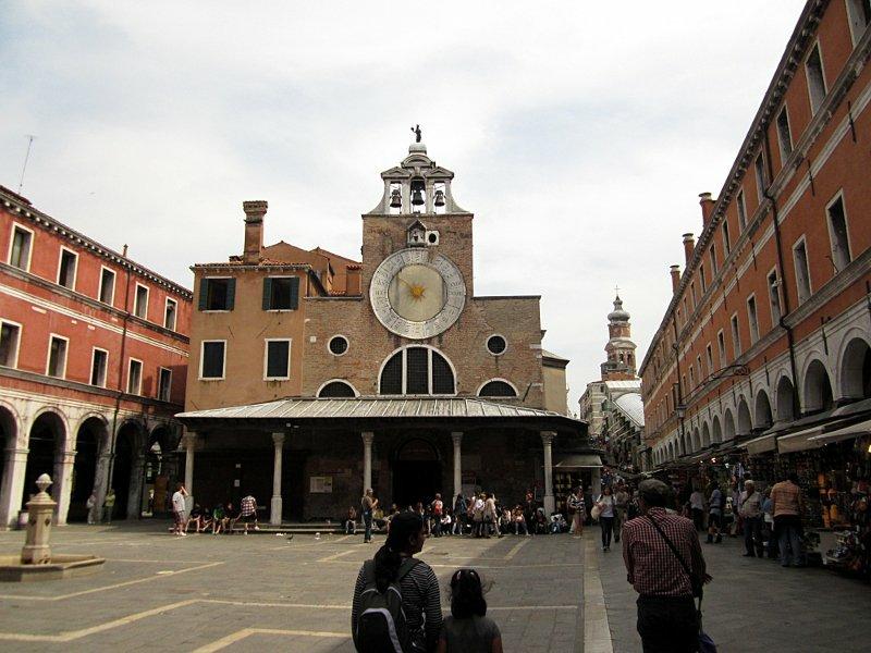 Башенные часы Сан-Джакомо ди Риальто