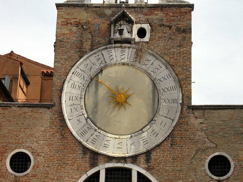 Часы Сан-Джакомо ди Риальто в Венеции