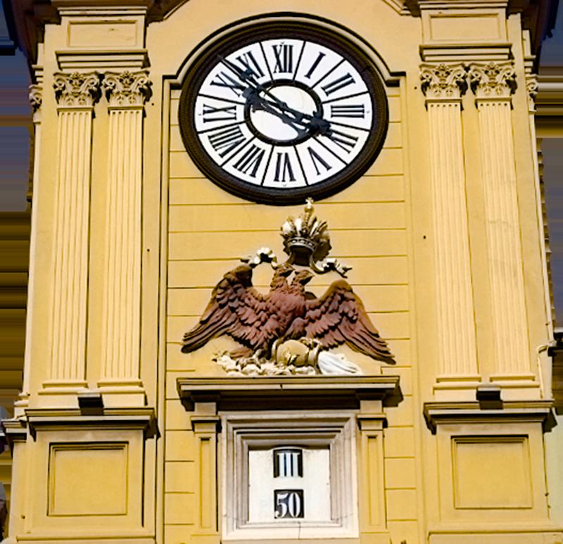 Башенные часы в Риеке