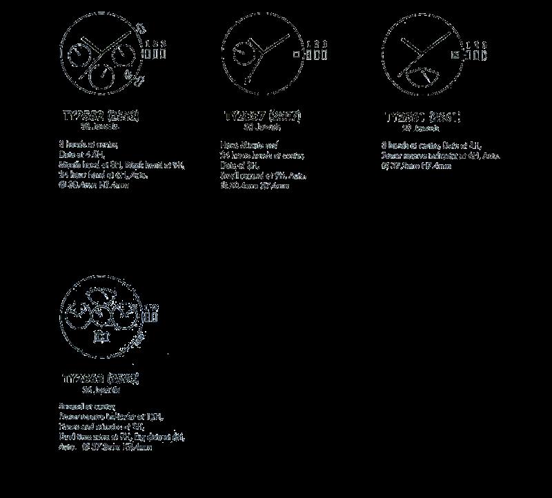 Китайские часы Sea-Gull Multi function