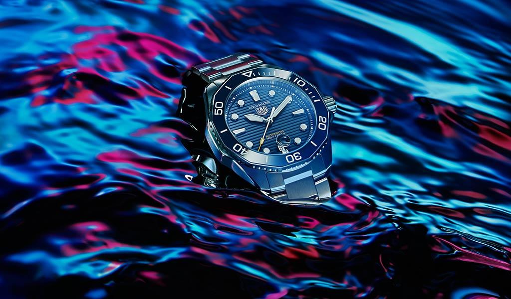 Новые швейцарские спортивные часы Aquaracer Professional 300