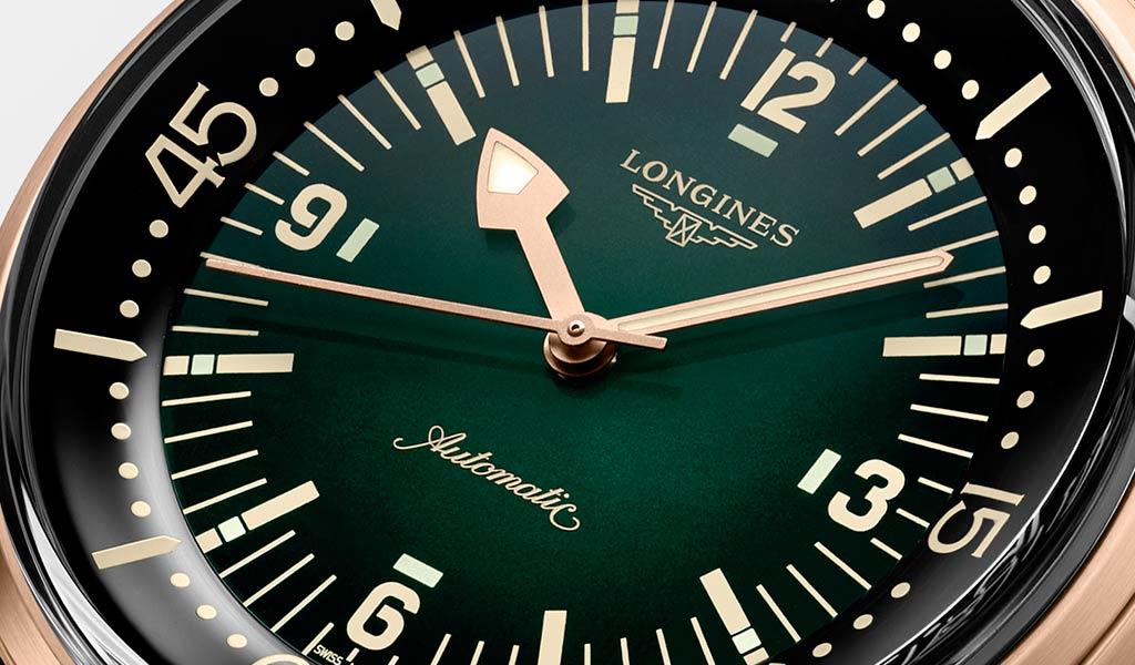 Новые дайверские часы The Longines Legend Diver