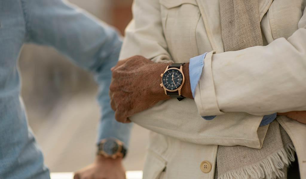Новые наручные часы с бронзовым корпусом The Longines Legend Diver