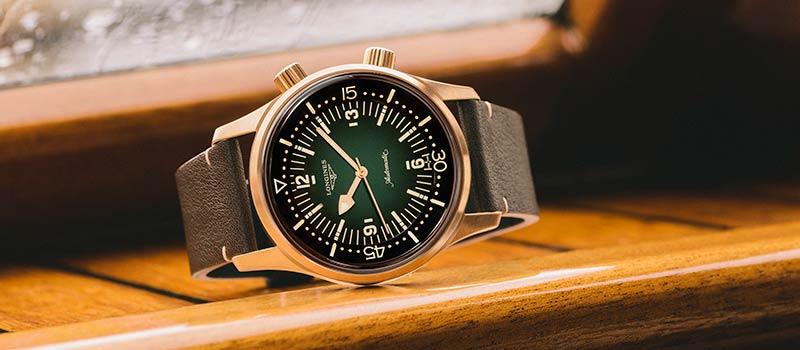 Модель The Longines Legend Diver теперь в бронзовом цвете
