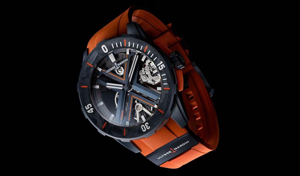Швейцарские часы для подводного плавания Ulysse Nardin