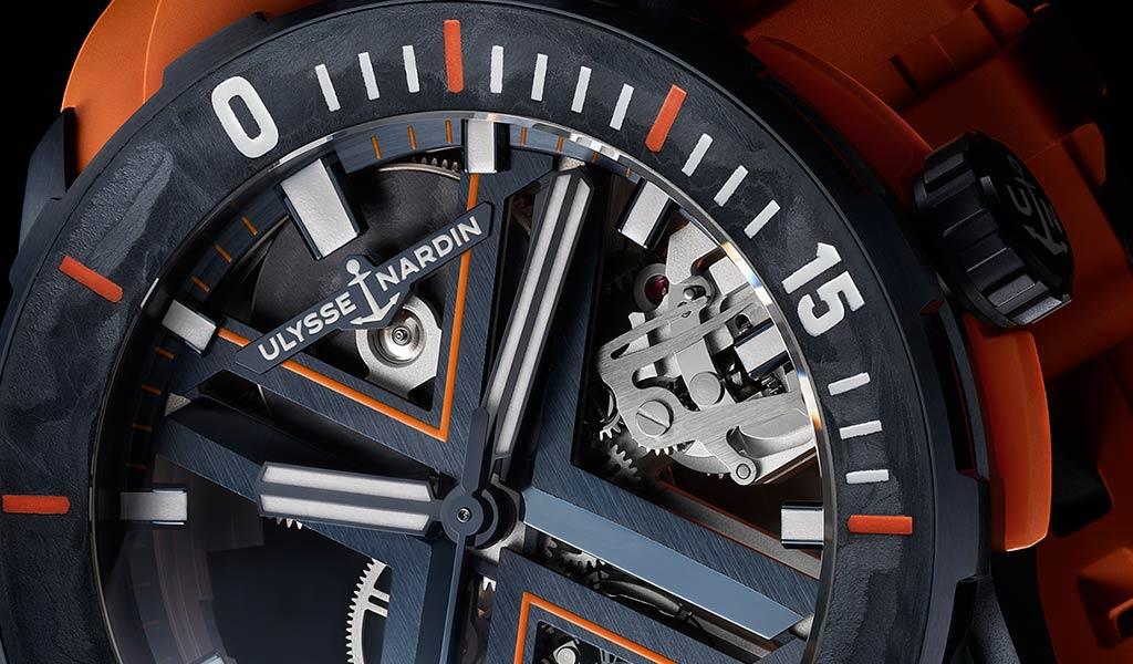 Новые швейцарские наручные часы скелетон Ulysse Nardin
