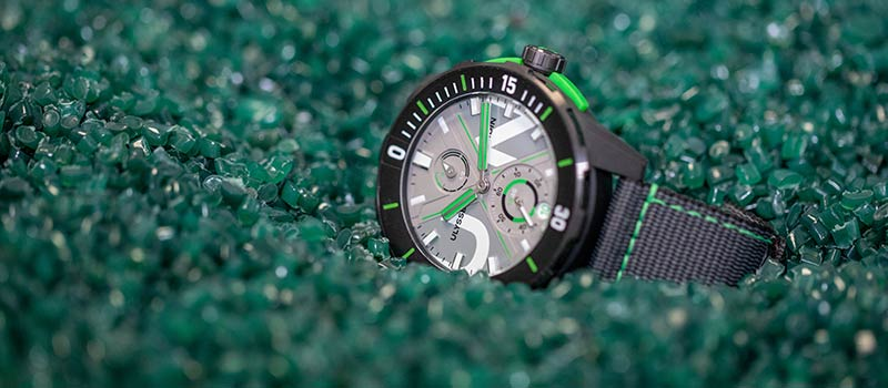 Наручные часы Diver Net: из моря прямо на запястье