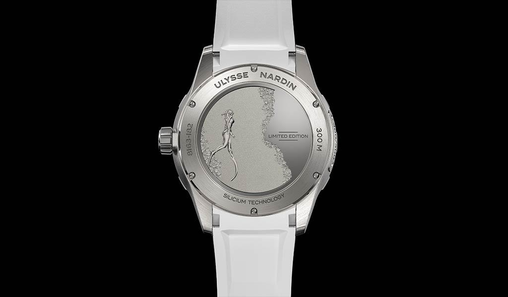 Женские дайверские часы Lady Diver Great White