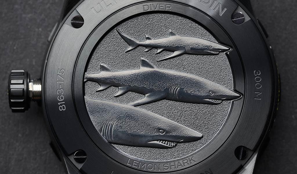 Новые механические часы для дайвинга DIVER Lemon Shark