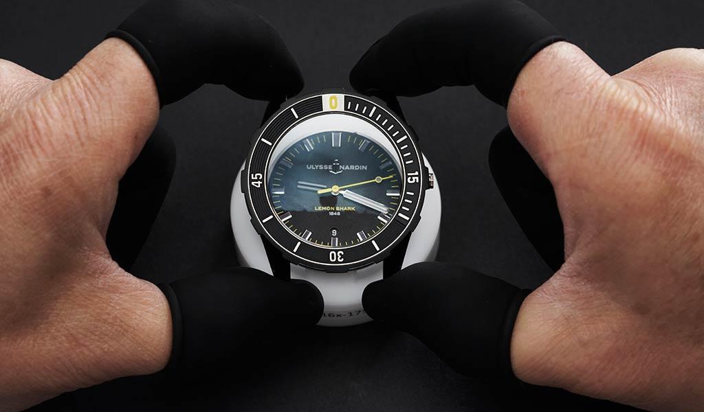 Швейцарские часы для дайвинга Ulysse Nardin