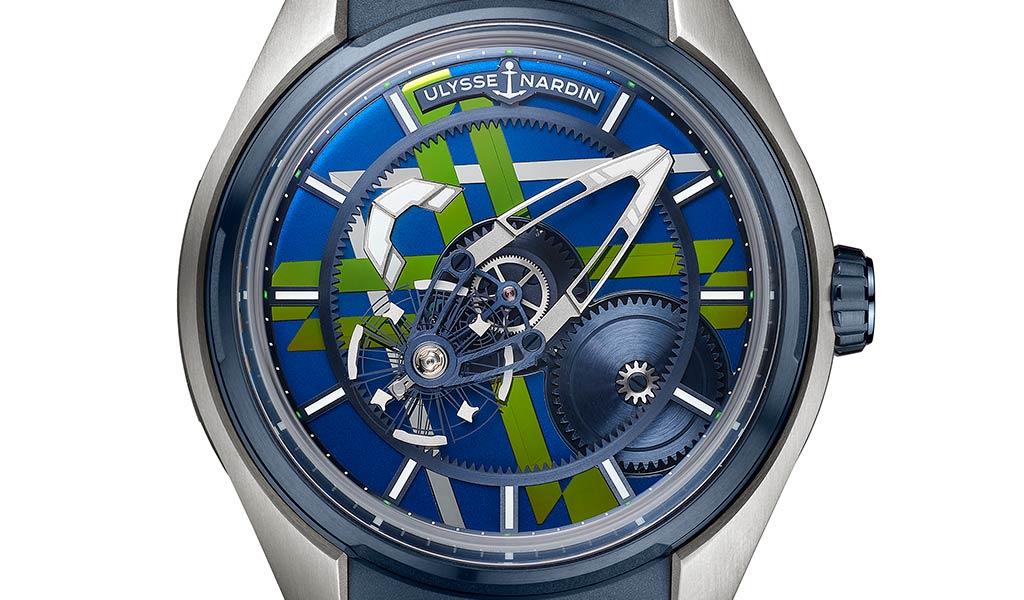 Новые механические часы Ulysse Nardin