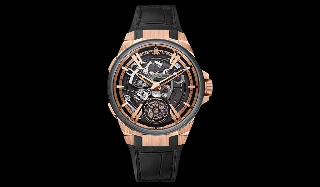 Швейцарские наручные часы Улисс Нардан