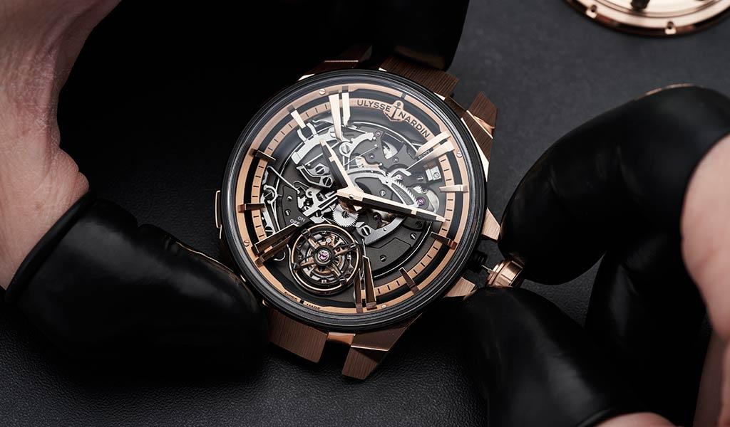 Новые швейцарские часы Ulysse Nardin
