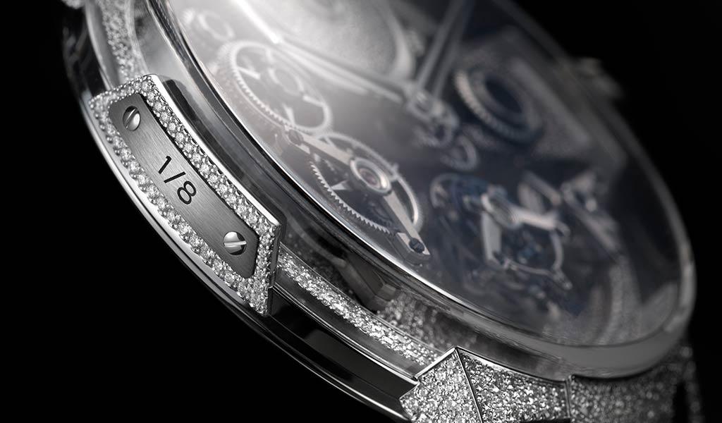 Часы Ulysse Nardin инкрустация бриллиантами