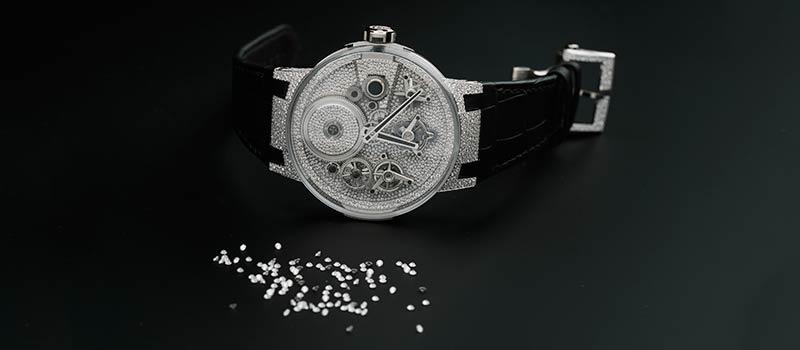 Роскошное произведение искусства от Ulysse Nardin часы Sparkling Free Wheel