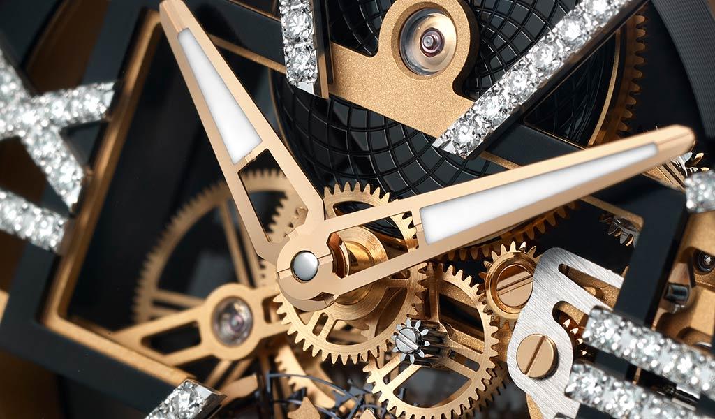 Новые наручные часы Skeleton X Sparkling