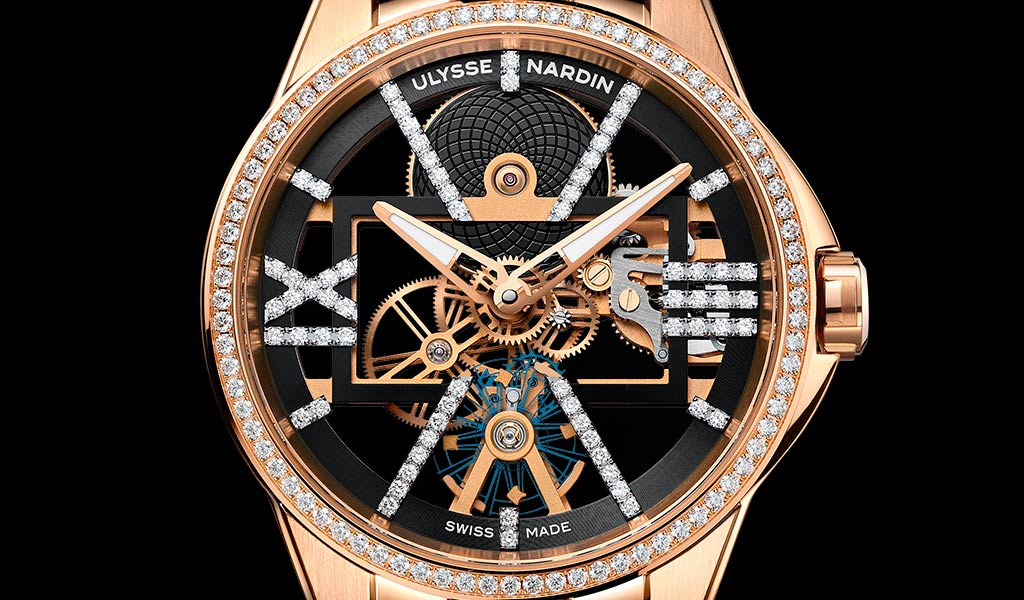 Новые часы Skeleton X Sparkling