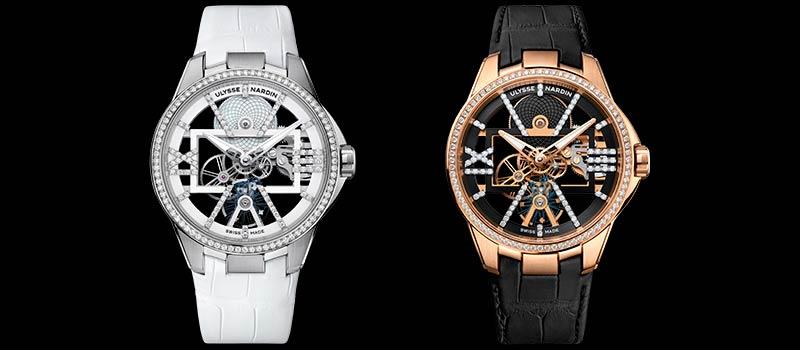 Две новые модели Skeleton X Sparkling от Ulysse Nardin